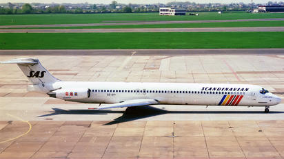 SE-DIY - SAS - Scandinavian Airlines McDonnell Douglas MD-81