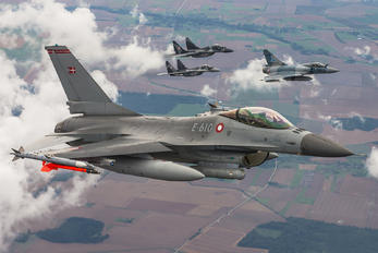 E-610 - Denmark - Air Force General Dynamics F-16A Fighting Falcon