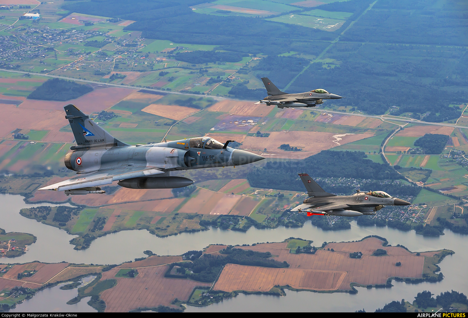 France - Air Force 78 aircraft at In Flight - Lithuania