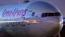 5Y-KZX - Kenya Airways Boeing 777-300ER aircraft