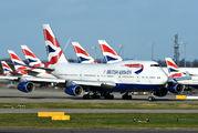 G-BNLP - British Airways Boeing 747-400 aircraft