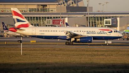G-EUUA - British Airways Airbus A320