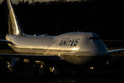 N121UA - United Airlines Boeing 747-400 aircraft