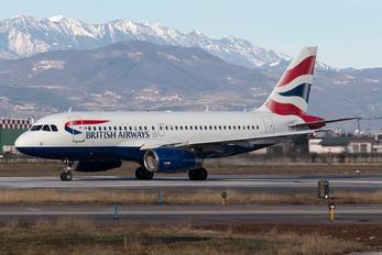 G-DBCC - British Airways Airbus A319