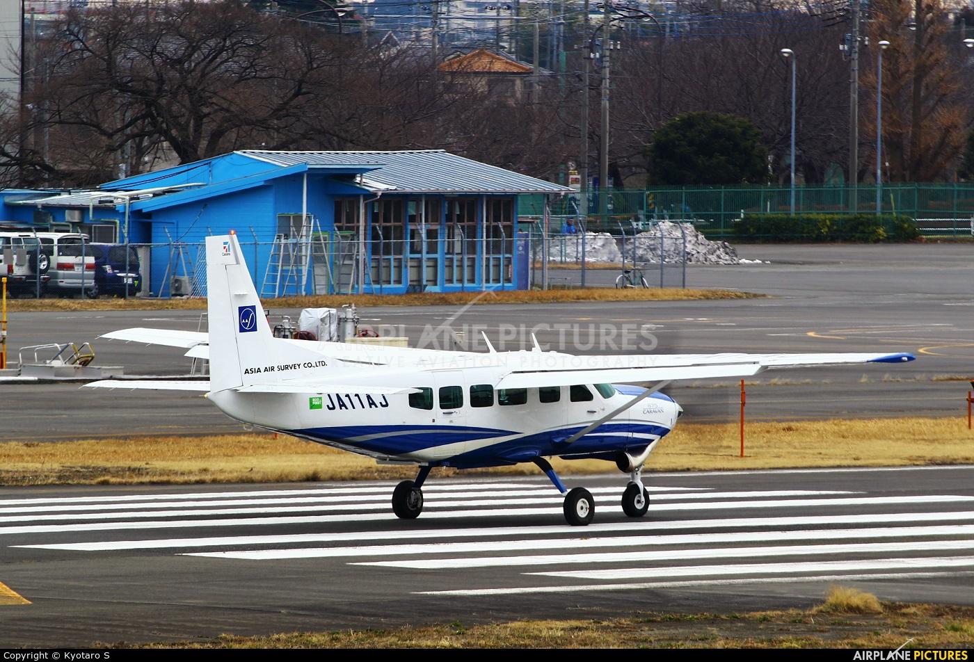Asia Air Survey Co.Ltd JA11AJ aircraft at Chofu