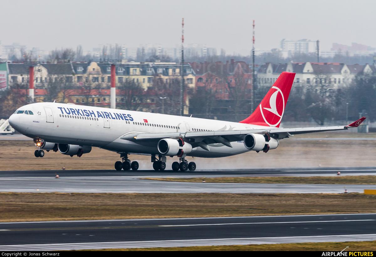 Turkish Airlines TC-JIH aircraft at Berlin - Tegel