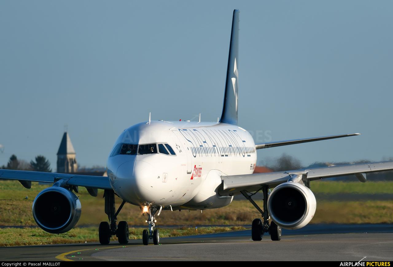 Swiss HB-IJN aircraft at Paris - Charles de Gaulle