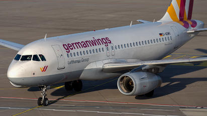D-AGWV - Germanwings Airbus A319
