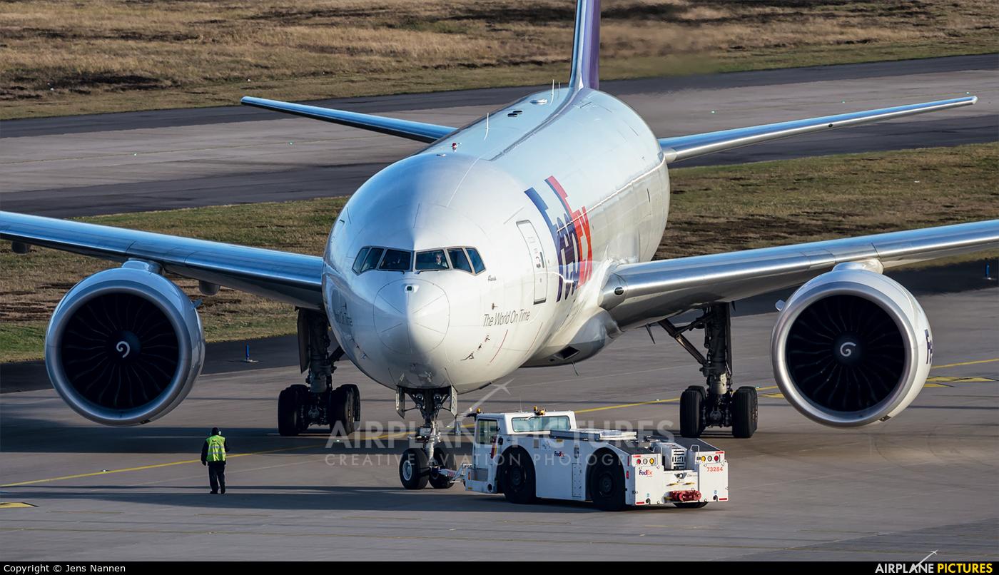 FedEx Federal Express N890FD aircraft at Cologne Bonn - Konrad Adenauer