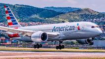 N809AA - American Airlines Boeing 787-8 Dreamliner aircraft