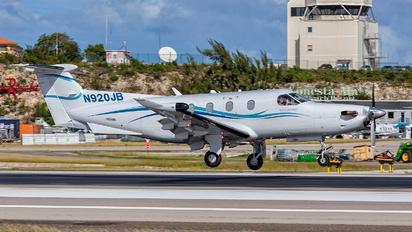 N920JB - Private Pilatus PC-12