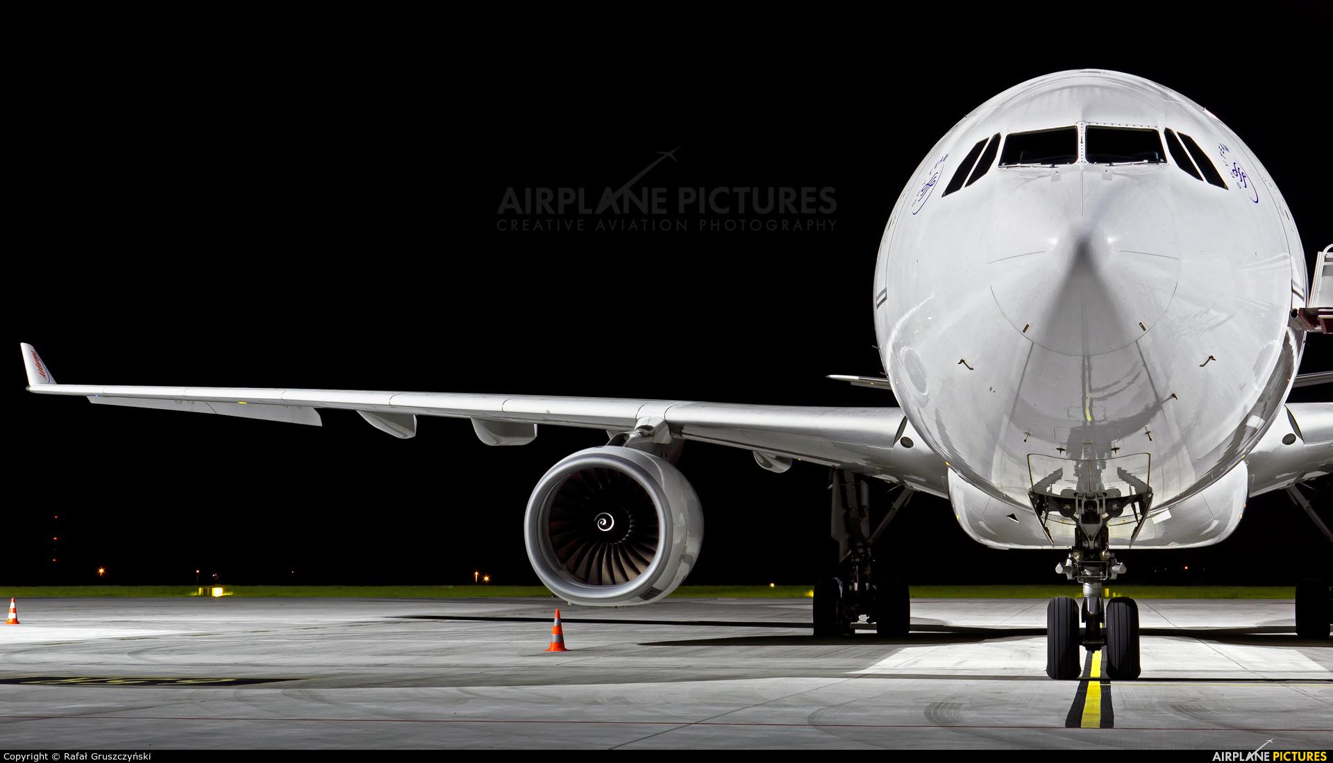 Air Europa EC-LXR aircraft at Warsaw - Frederic Chopin