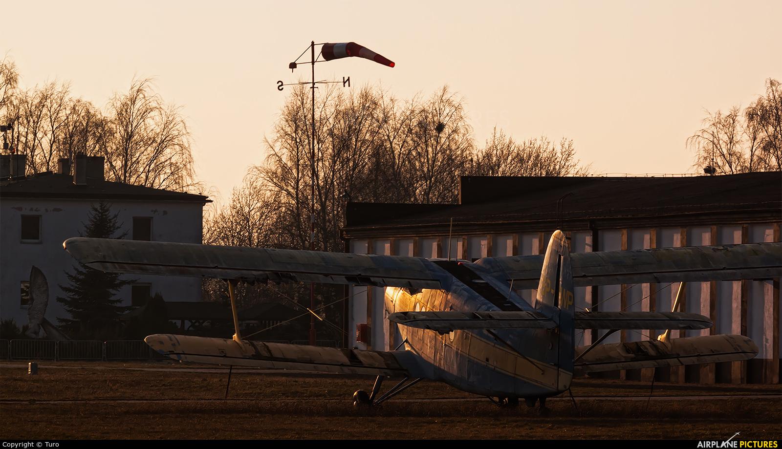 Aeroclub of Poland SP-WP aircraft at Poznań - Kobylnica