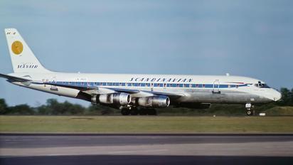 LN-MOH - SAS - Scandinavian Airlines Douglas DC-8