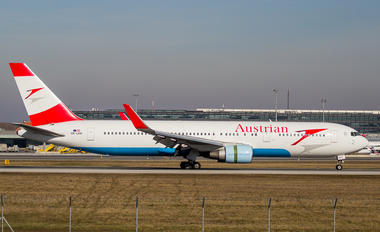 OE-LAW - Austrian Airlines/Arrows/Tyrolean Boeing 767-300ER