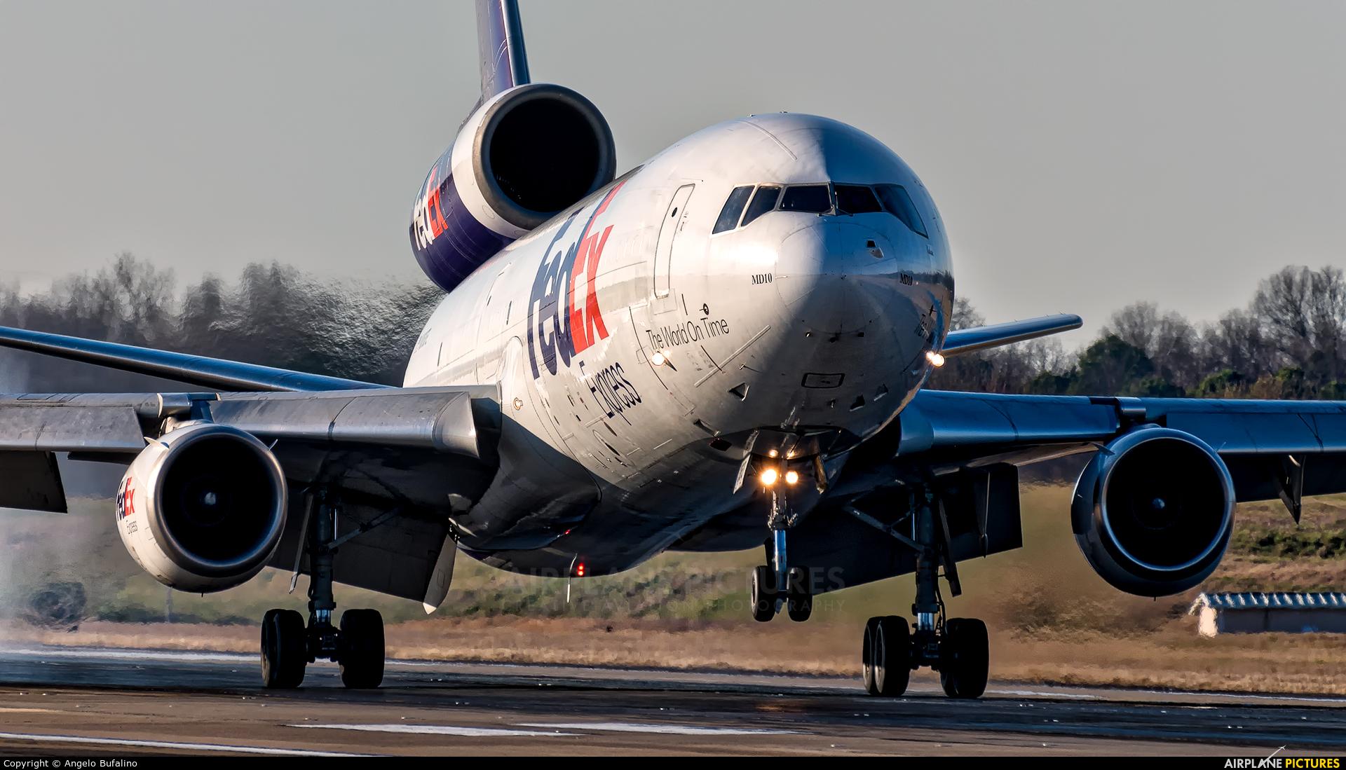 N363FE - FedEx Federal Express McDonnell Douglas MD-10-10F at ...
