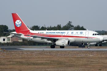 B-6176 - Sichuan Airlines  Airbus A319