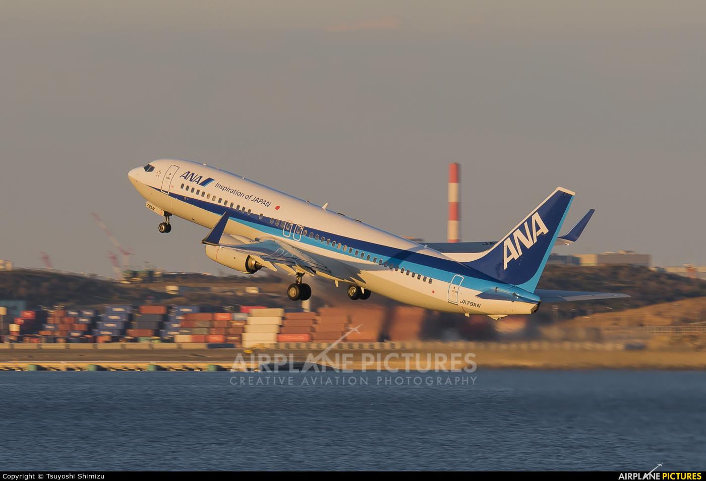 ANA - All Nippon Airways JA79AN aircraft at Tokyo - Haneda Intl
