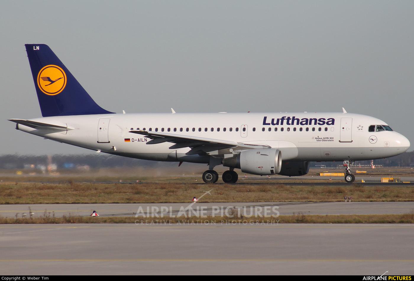 Lufthansa D-AILN aircraft at Frankfurt