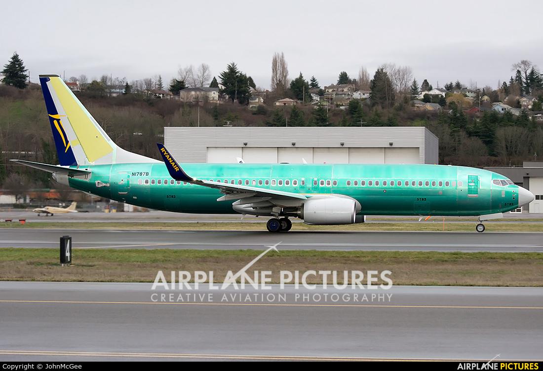 Ryanair N1787B aircraft at Seattle - Boeing Field / King County Intl