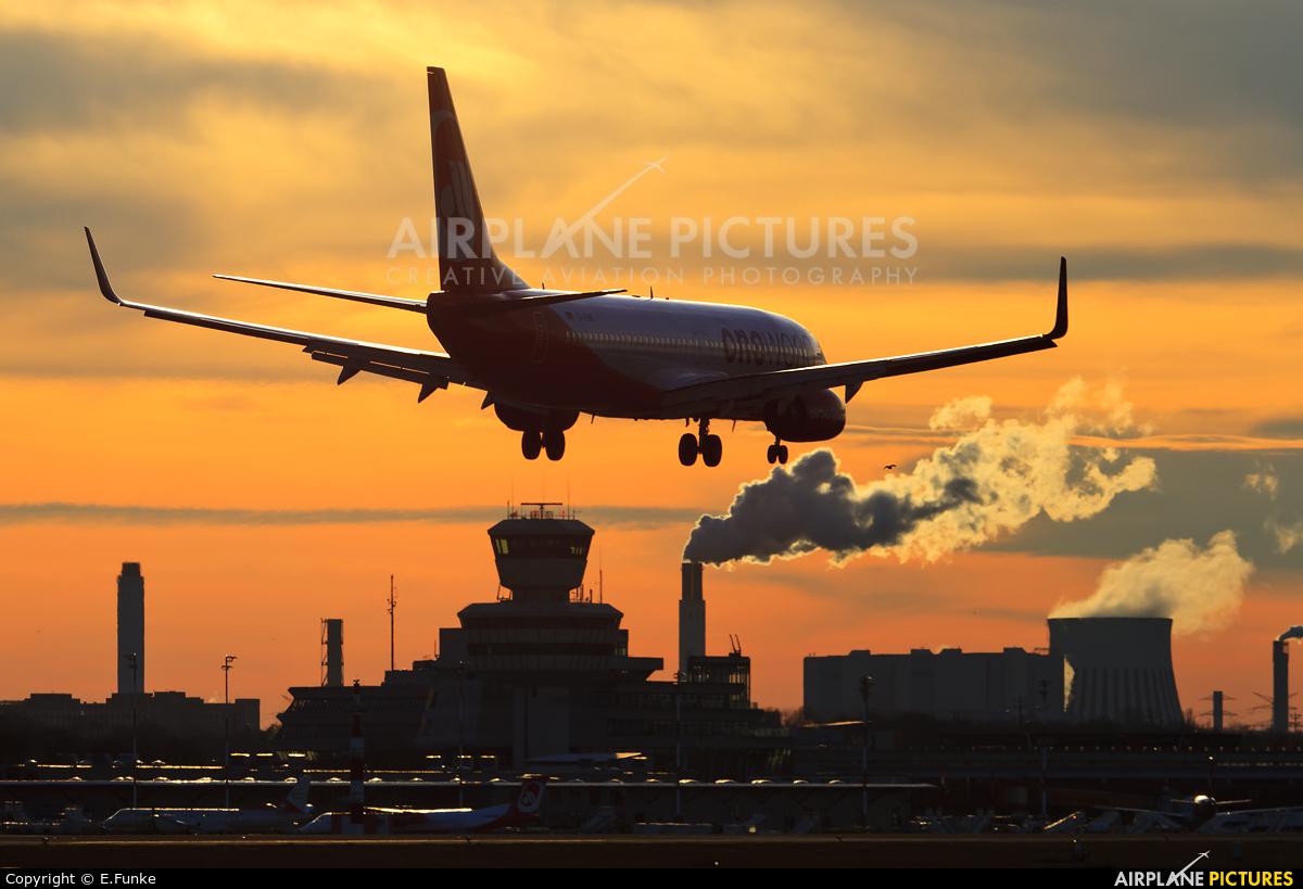 Air Berlin D-ABMF aircraft at Berlin - Tegel