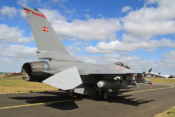 E-011 - Denmark - Air Force General Dynamics F-16AM Fighting Falcon