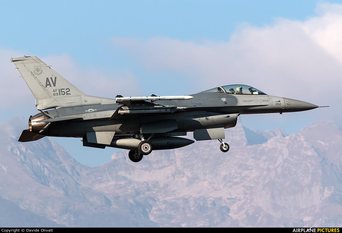 USA - Air Force 89-0152 aircraft at Aviano