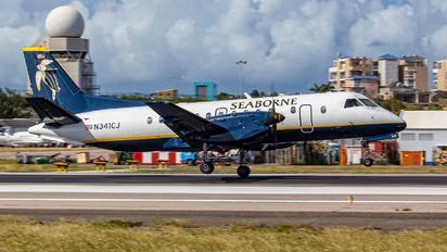 N341CJ - Seaborne Airlines SAAB 340