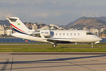 PP-SCB - Private Canadair CL-600 Challenger 605