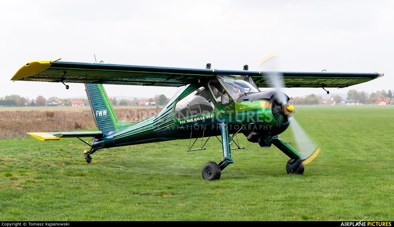 Private SP-FWW aircraft at Krosno
