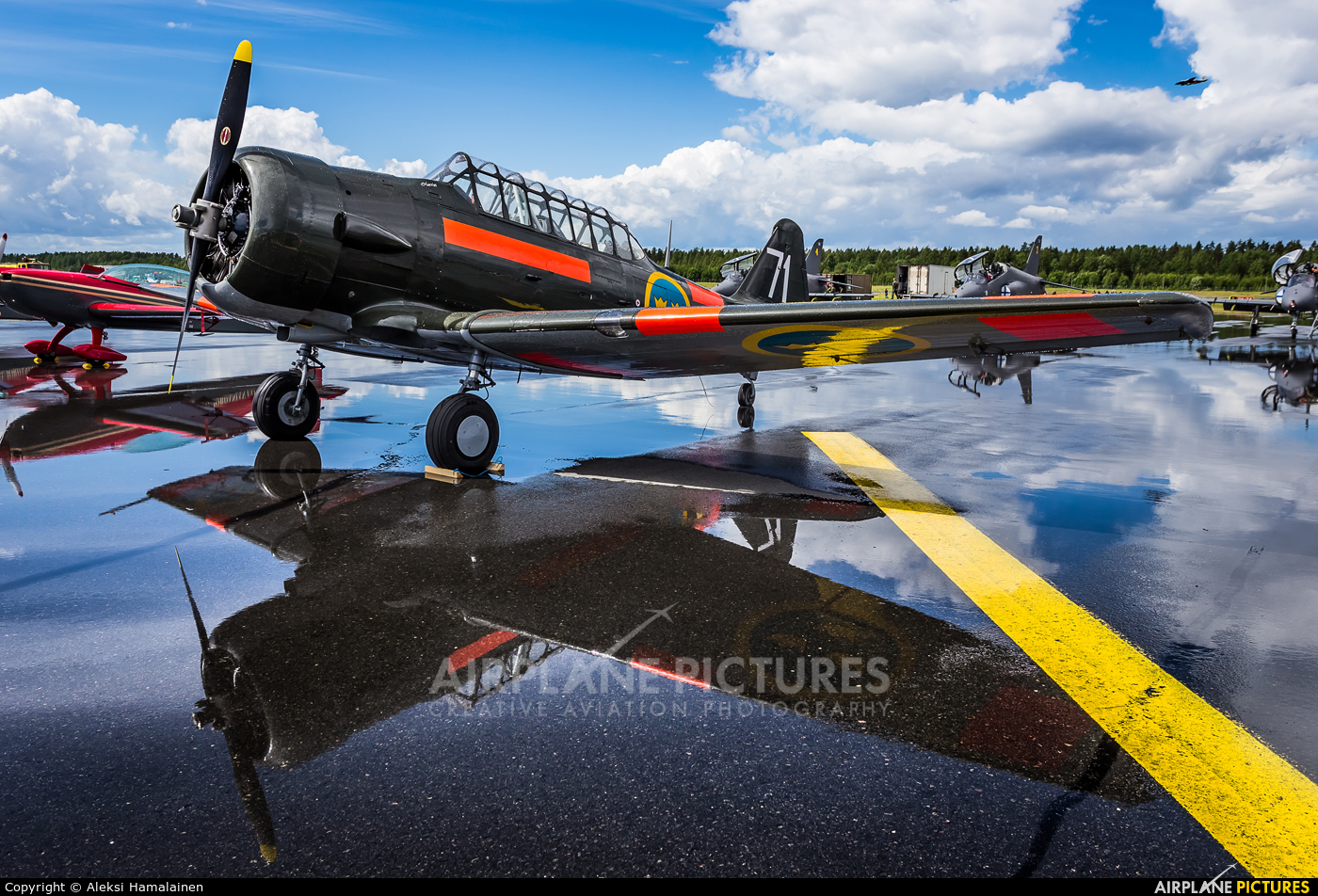 Swedish Air Force Historic Flight SE-FUD aircraft at Lappeenranta