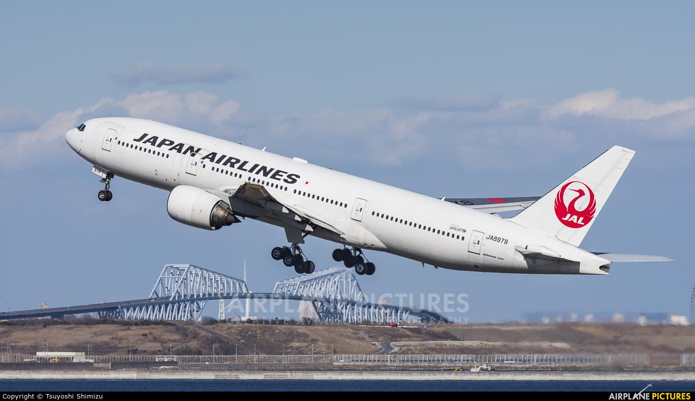 JAL - Japan Airlines JA8978 aircraft at Tokyo - Haneda Intl