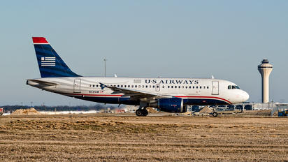 N721UW - US Airways Airbus A319
