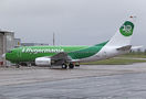 Germania Boeing 737-700 D-AGER at East Midlands airport