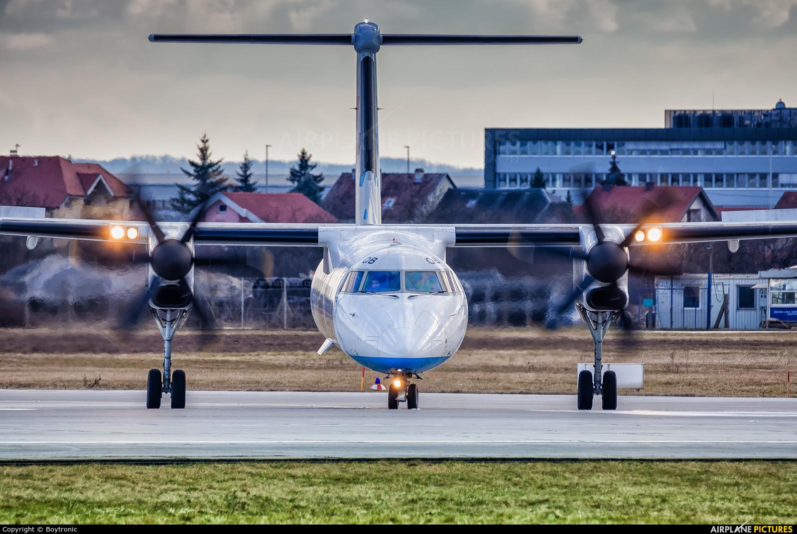 Croatia Airlines 9A-CQB aircraft at Zagreb