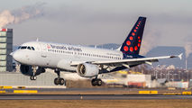 OO-SSU - Brussels Airlines Airbus A319 aircraft