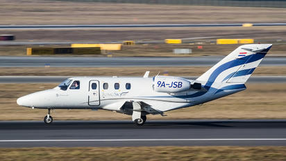 9A-JSB - Jung Sky Cessna 525 CitationJet