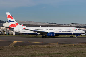 ZS-ZWG - British Airways - Comair Boeing 737-800