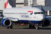 ZS-ZWG - British Airways - Comair Boeing 737-800 aircraft