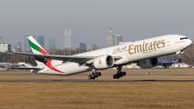 A6-EBS - Emirates Airlines Boeing 777-300ER aircraft