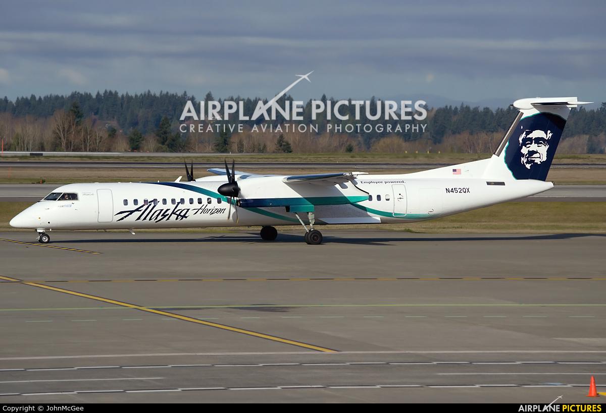 N452qx Alaska Airlines Horizon Air De Havilland Canada