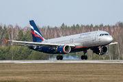 VP-BQU - Aeroflot Airbus A320 aircraft