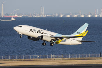 JA16AN - Air Do - Hokkaido International Airlines Boeing 737-700