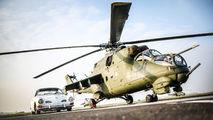 - - Poland - Army Mil Mi-24V aircraft