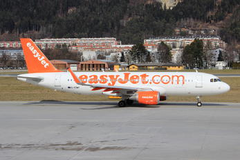 G-EZWY - easyJet Airbus A320
