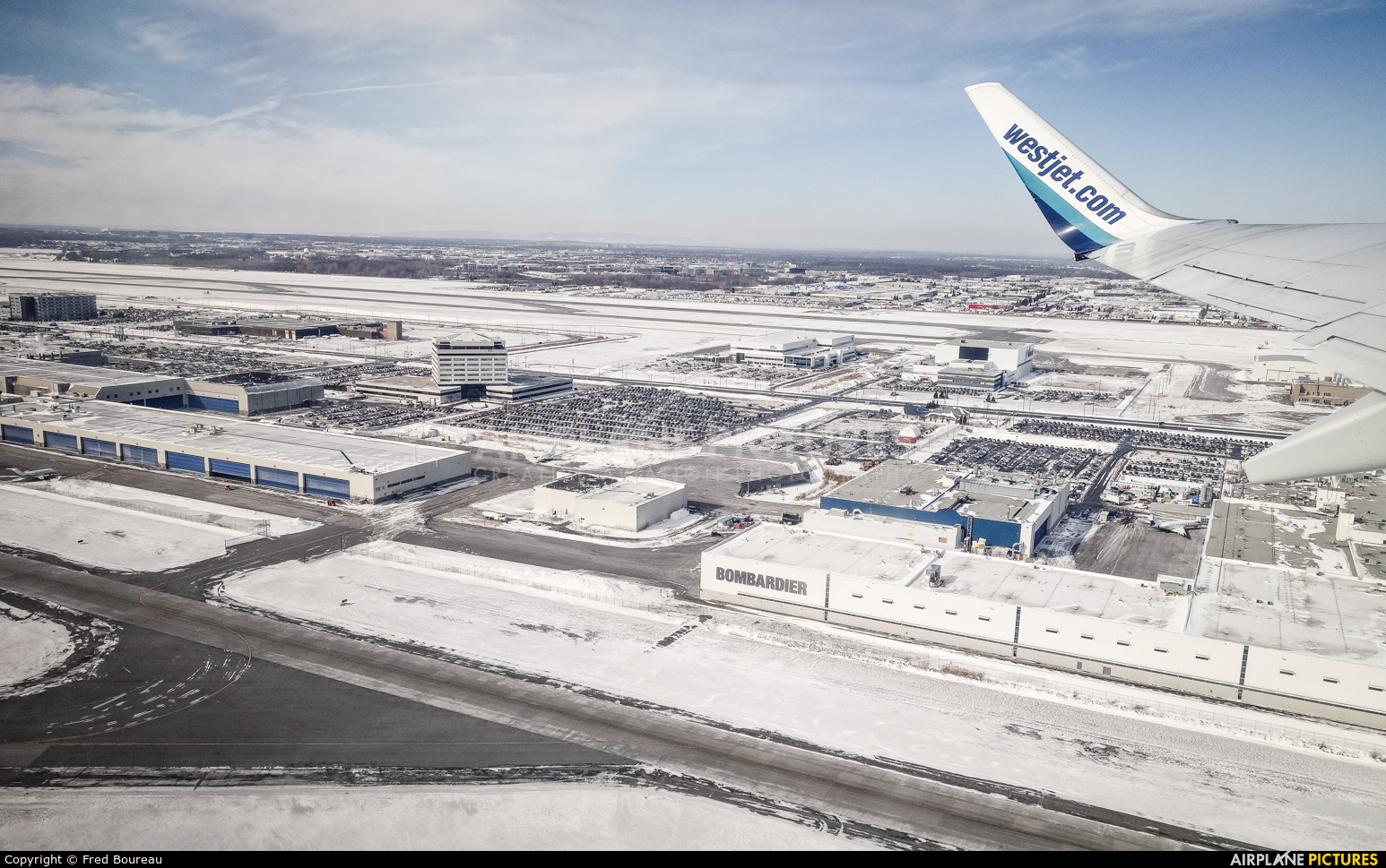 WestJet Airlines C-FKWS aircraft at Montreal - Pierre Elliott Trudeau Intl, QC