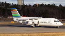 First Avro RJ100 in BRA's fleet title=