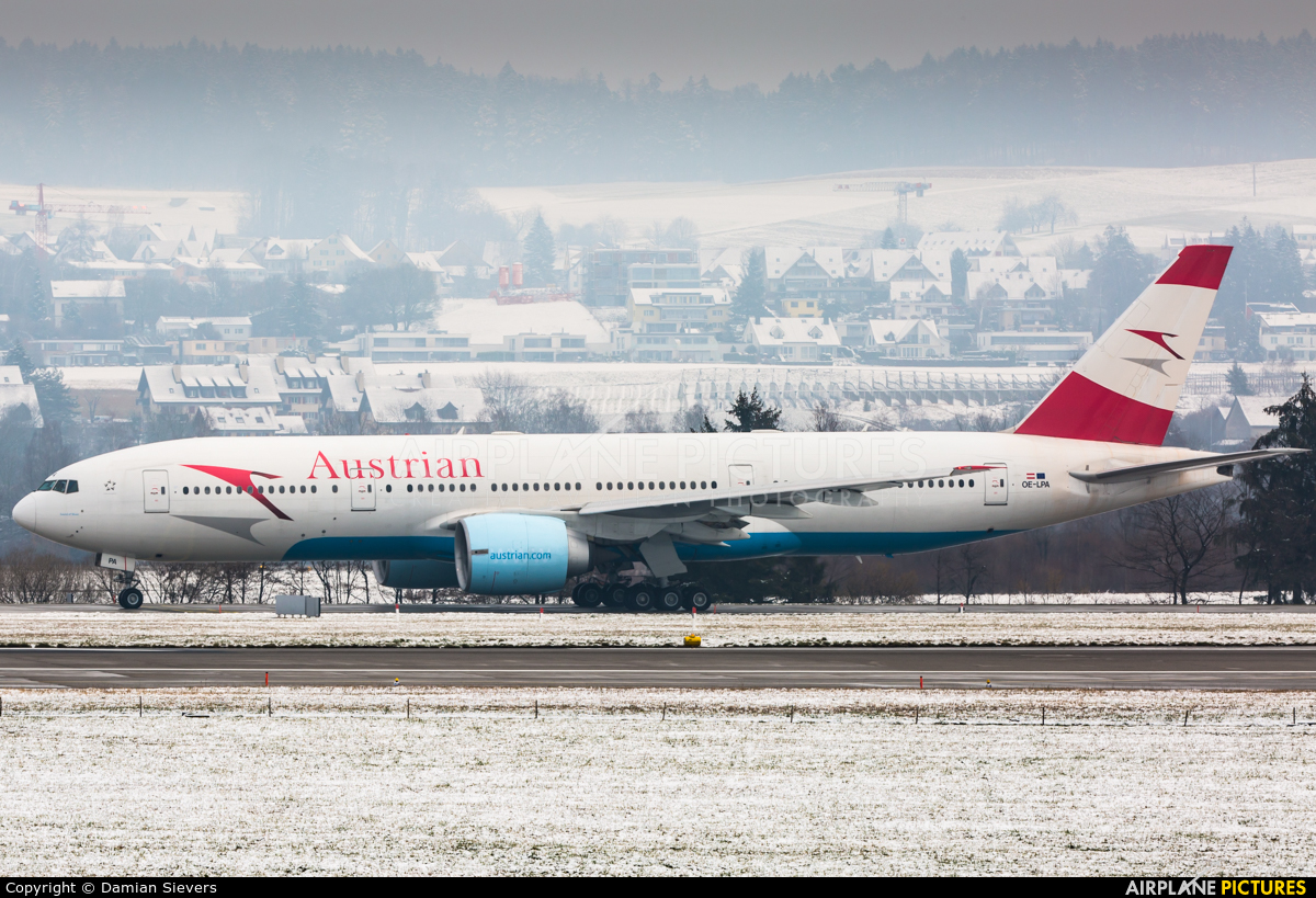 Austrian Airlines/Arrows/Tyrolean OE-LPA aircraft at Zurich