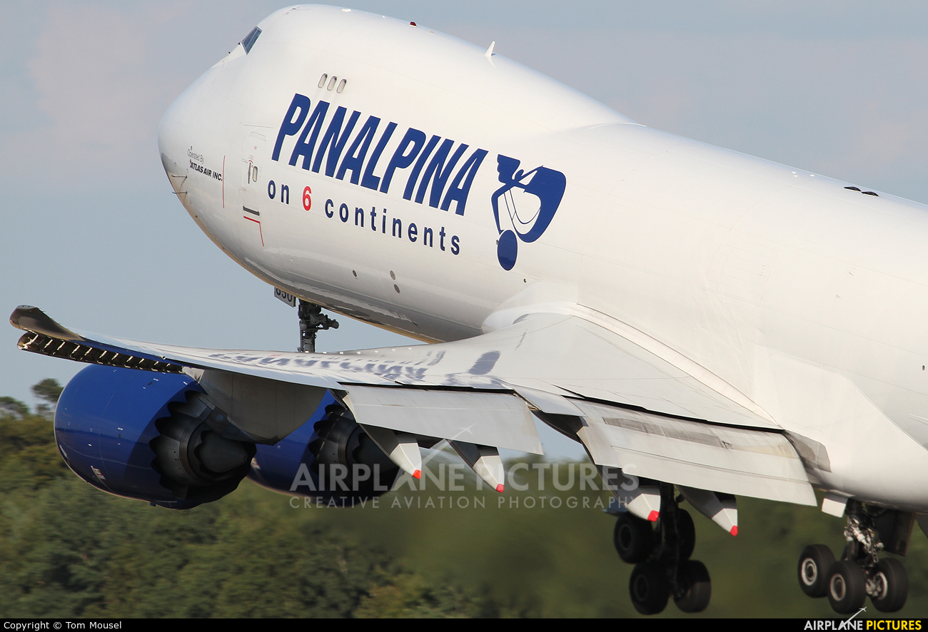 Panalpina N850GT aircraft at Luxembourg - Findel