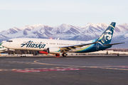 N563AS - Alaska Airlines Boeing 737-800 aircraft